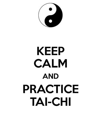 Keep calm tai chi